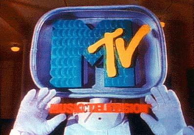 MTVの懐かしいロゴ。