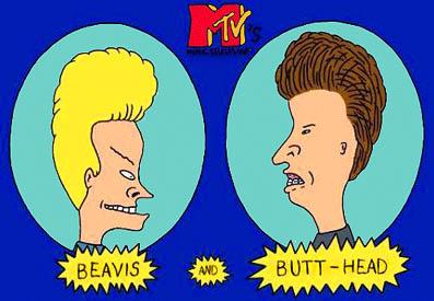 Beavis and Butt-Head from MTV