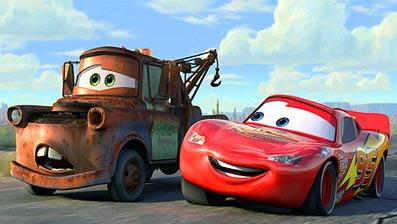 ディズニー/ピクサー映画『カーズ(CARS)』(2006年)