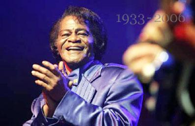 ジェイムス・ブラウン、享年73。(2006年11月撮影)