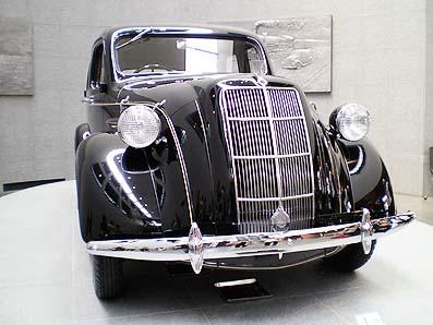 トヨタ博物館〜トヨタ・AA型乗用車(1936年)