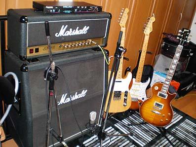 Marshall JCM + Gibson LP Standard, Greco 78 ST, Fender 52 Tele