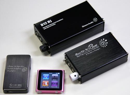 iBassoAudio ポータブルヘッドホンアンプ
