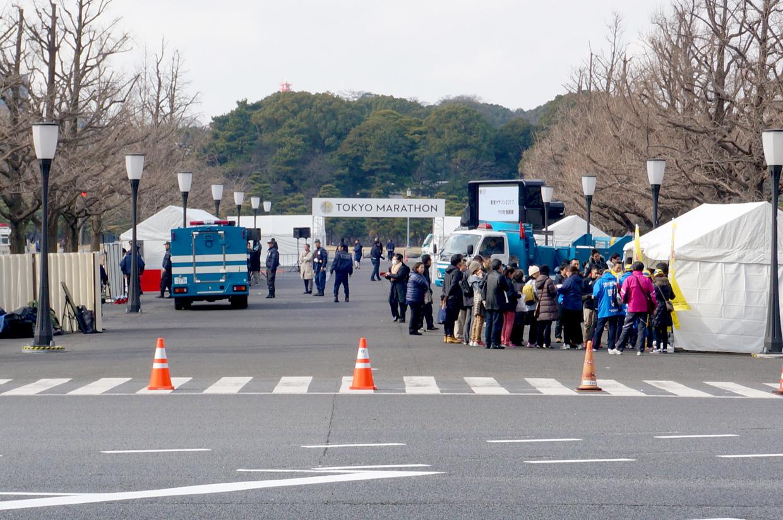 TOKYO MARATHON テロ対処訓練
