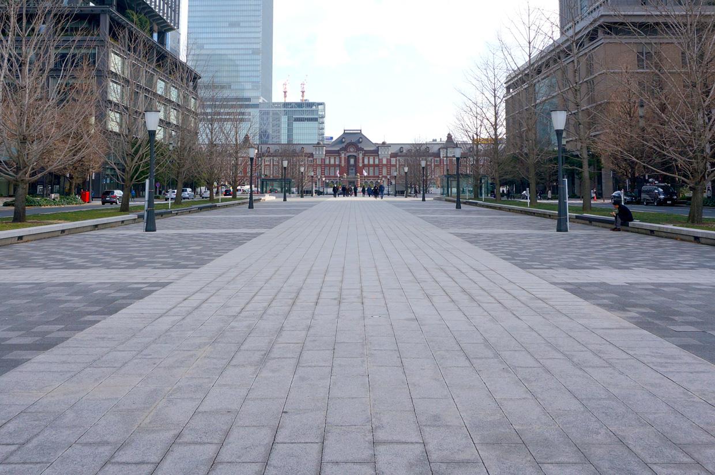 東京駅前・行幸通り