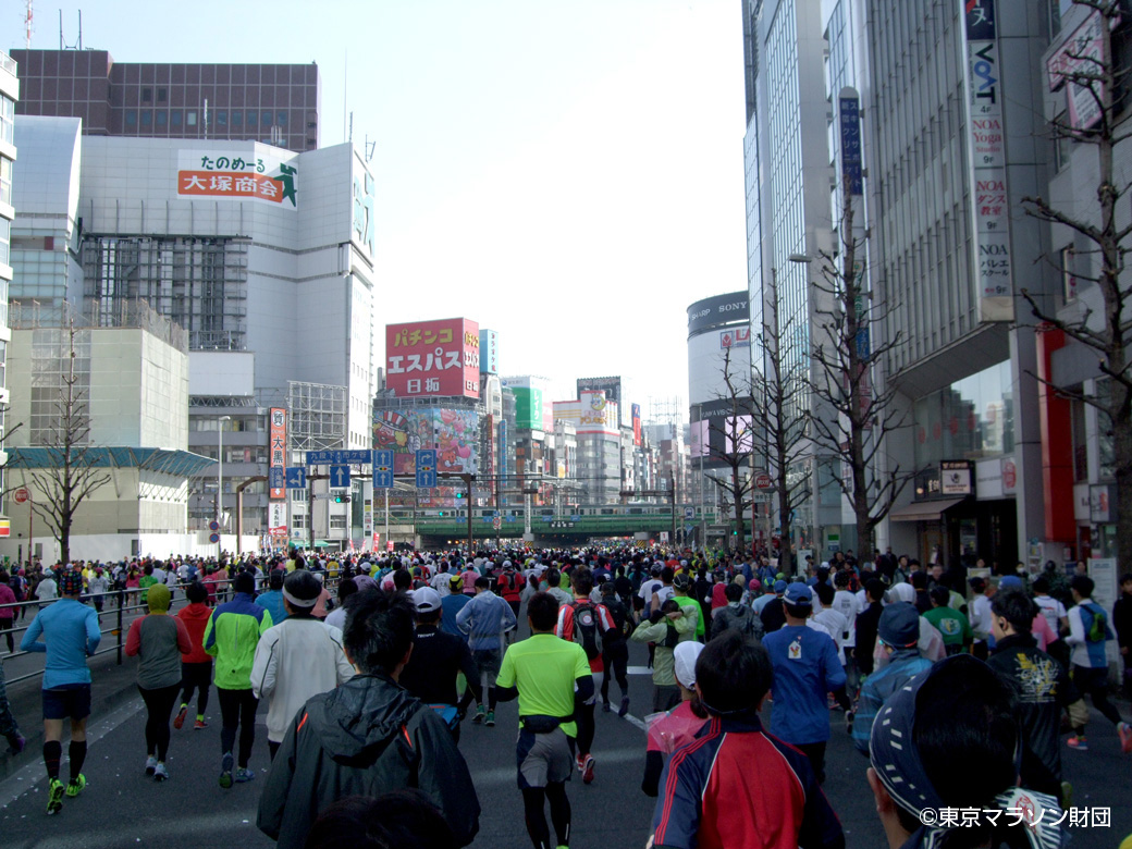 青梅街道・東京マラソン
