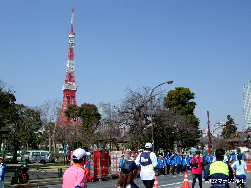東京タワー・東京マラソン