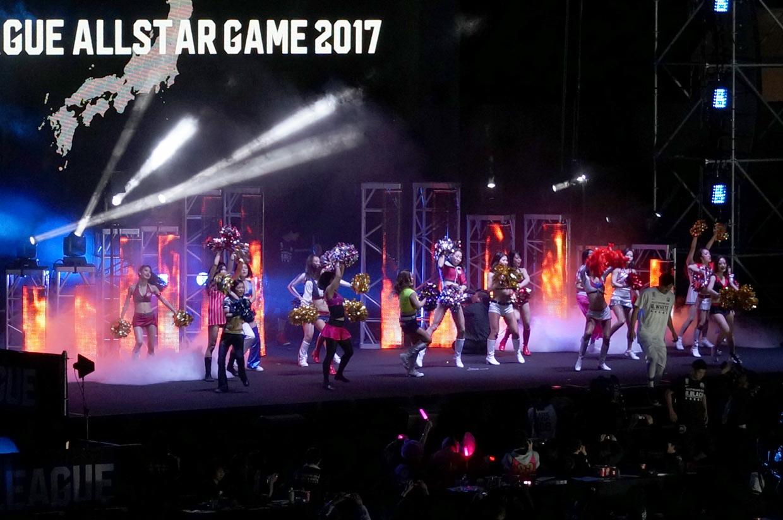 B.LEAGUE ALLSTAR GAME 2017 ステージ