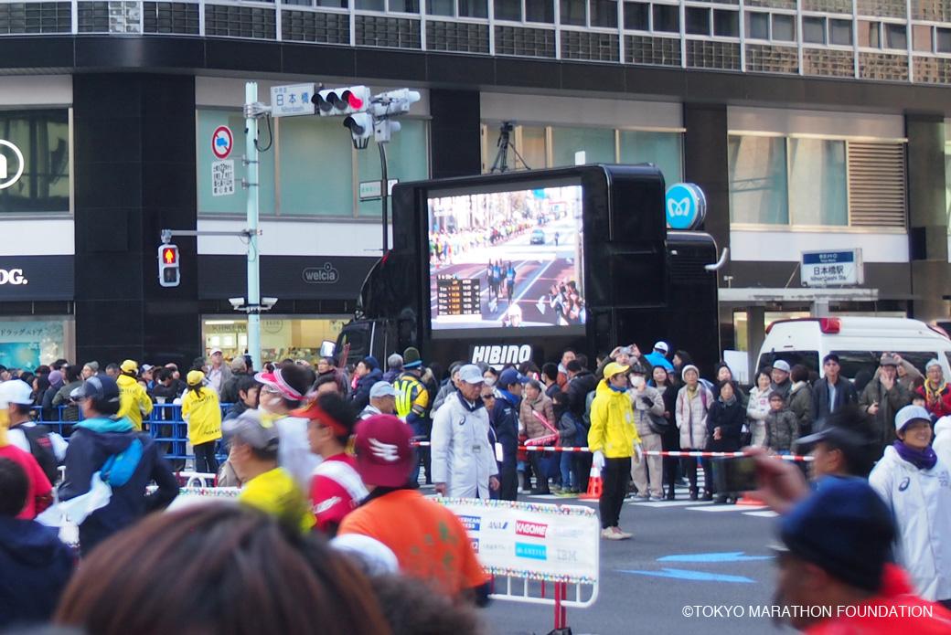 東京マラソン2017 日本橋