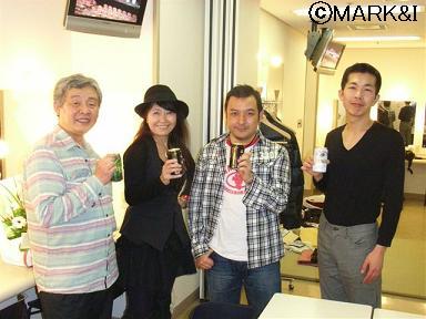 喬太郎さん、斉藤さん、三三さん、お疲れ様!ありがとうございました