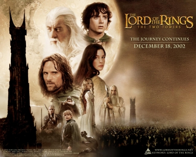 #58 THE LORD OF THE RING,THE TWO TOWERS (2002) ロードオブザリング 二つの塔