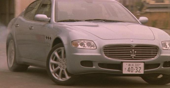 マセラッティクアトロポルテ/Maserati Quattroporte