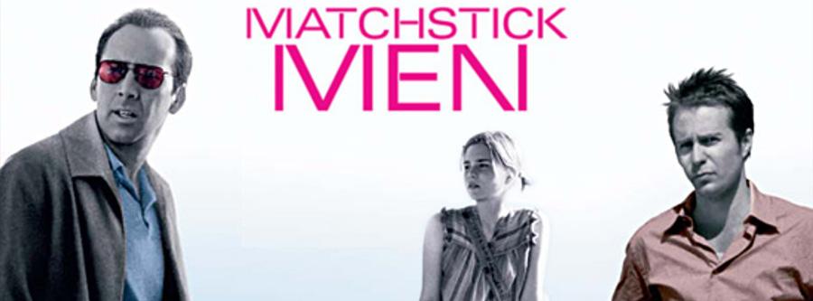 #312 MATCHSTICK MEN (2003) マッチスティック・メン 00 ニコラス・ケイジ Nicolas Cage サム・ロックウェル Sam Rockwell アリソン・ローマン Alison Lohman