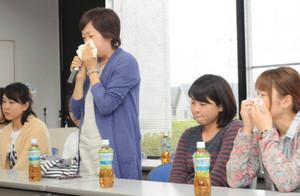 9福島の園児母親、苦悩の涙 一時避難の20人が懇親会で