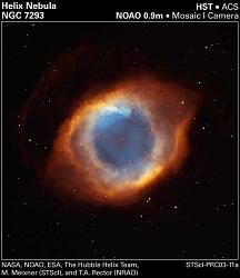 惑星状星雲NGC7293