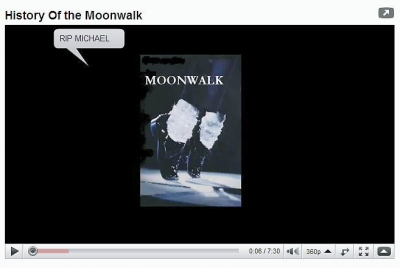 history of the  moonwalk