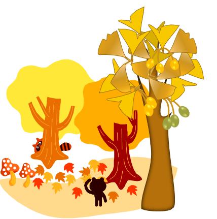 秋の風景コラボ