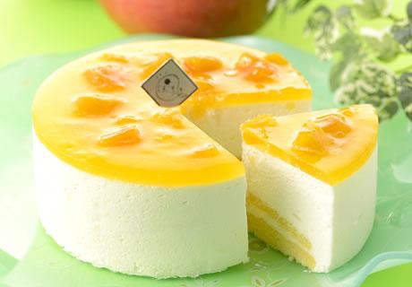 太陽たまごのレアチーズ