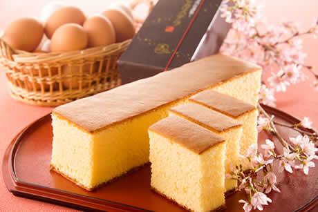 黄金のカステラ(イメージ写真)