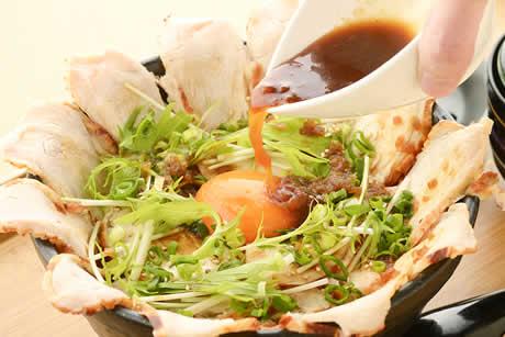 『ローストチキンたまご丼』イメージ写真