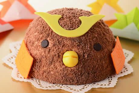 『子供の日ぴよちゃんケーキ』写真