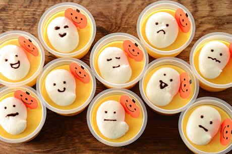 『蔵王のたまごぷりん〜おばけとかぼちゃ』写真