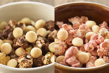 『ポップボーロ』ショコラミルク味&いちごミルク味