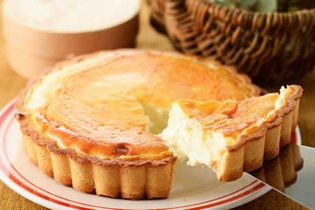 『黄金たまごのチーズタルト』商品イメージ写真