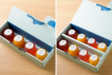 『TAMAGOYA Pure Fruit Jelly』商品イメージ写真