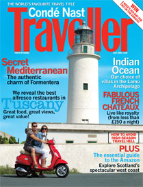 conde nast traveller july 2009