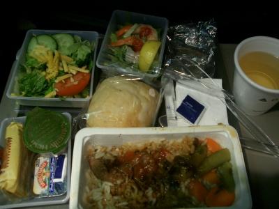 デルタ航空機内食2(米→日)