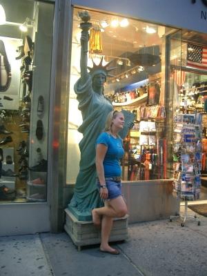 自由の女神とアメリカ