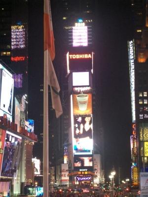 タイムズスクエア正面