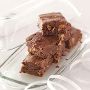 Triple Chocolate Fudge