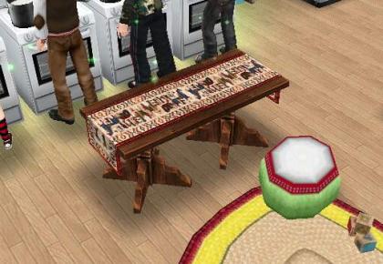 simsフリープレイ コーヒーテーブル