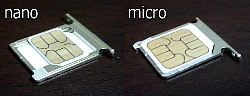 SIMcard nano micro