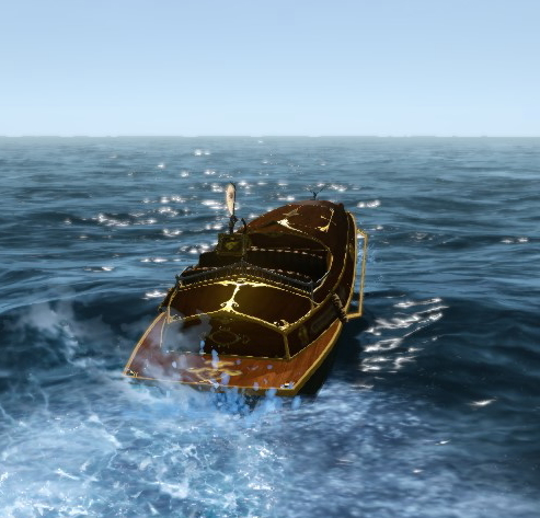 ボートで隣の大陸へ