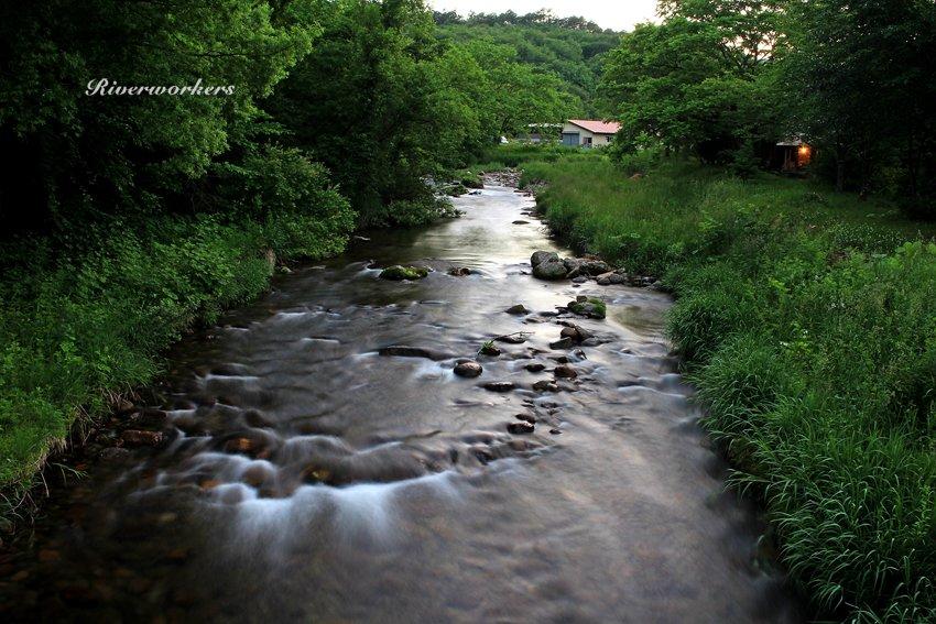 猿ヶ石川上流