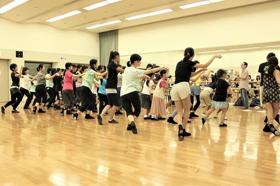 体験2ダンス練習