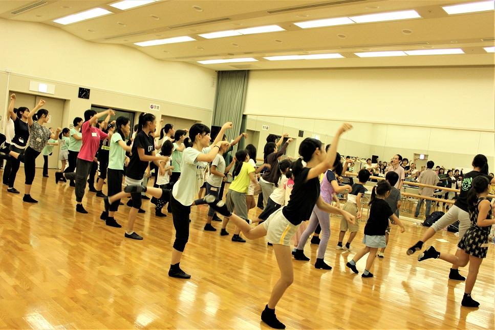 体験2ダンス振付