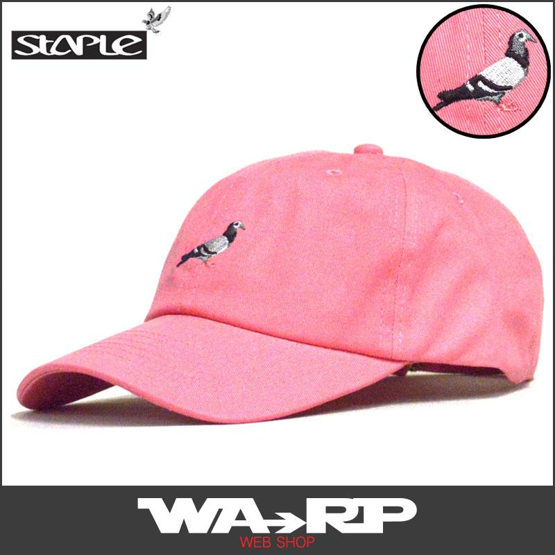 710d9db75716e ステイプル STAPLE PIGEON TWILL CAP(LAVA)ステイプルゴルフキャップ STAPLEゴルフキャップ ステイプルキャップ  STAPLEキャップ