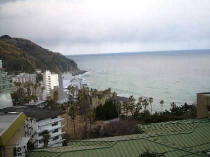 海の見える宿2