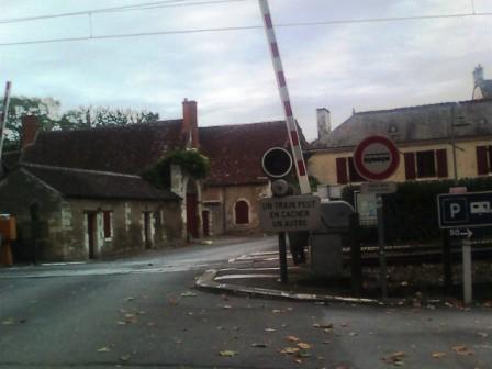 フランスの線路