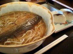 鯖寿司とおそば