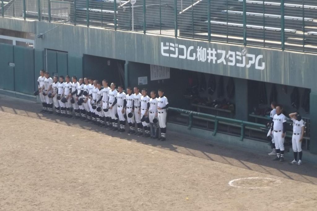 がんばれ!柳井学園高校野球部