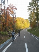 子供たちとサイクリング