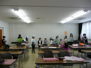 茨木組練習風景