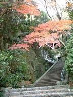 三滝寺の階段