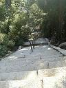大日堂への階段