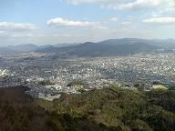 里見岩の景色